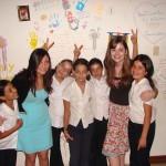 Gruppenfoto mit Kindern